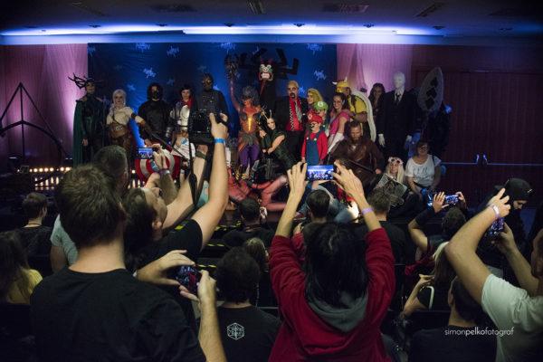 Vsi tekmovalci cosplay tekmovanja