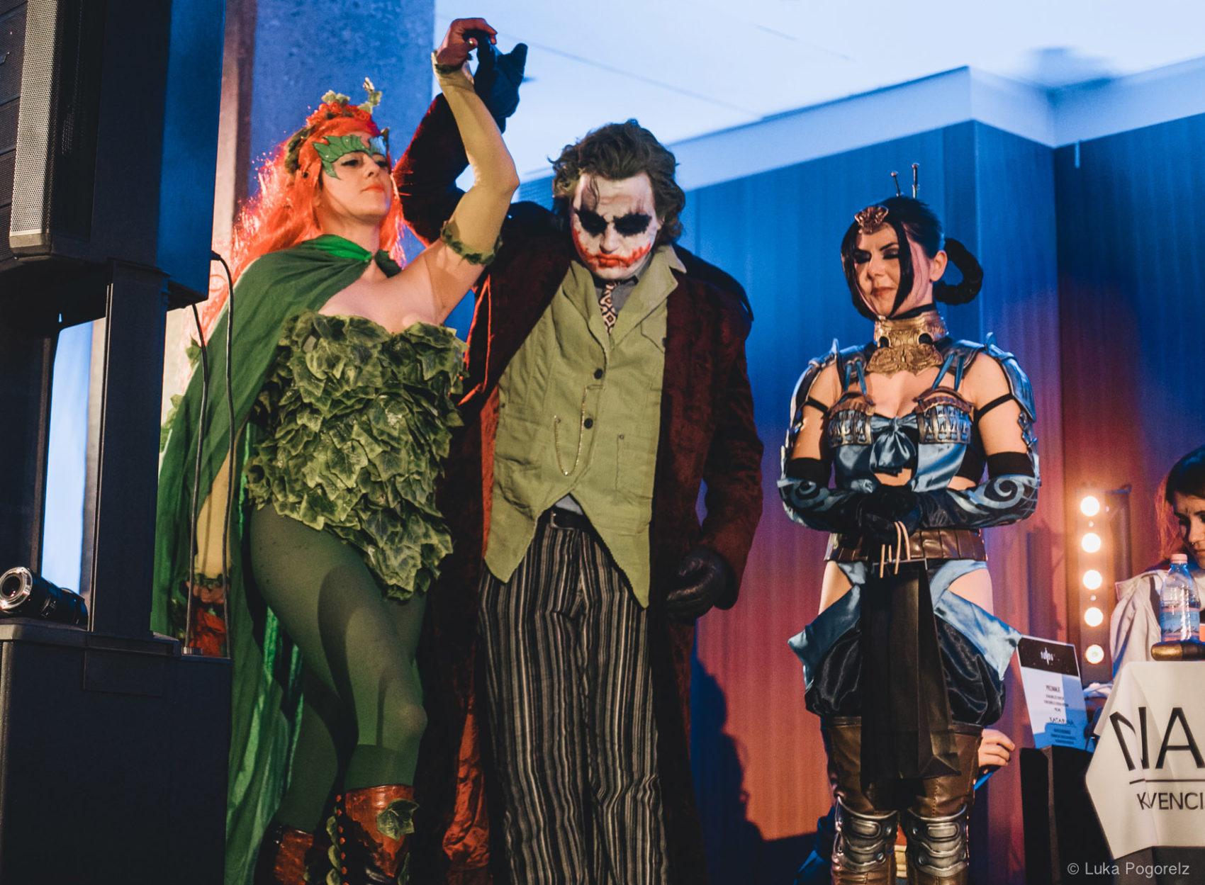 Poison Ivy in Joker na odru